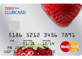 Tesco Bank Tesco Clubcard Credit Card with Low BT Fee Logo